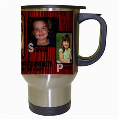 Josh s Travel Mug By Joshua Irvine   Travel Mug (white)   K9e7et5a0b4i   Www Artscow Com Right