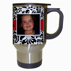 Mimis Mug By Joshua Irvine   Travel Mug (white)   M1n9idwux2pd   Www Artscow Com Right