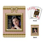Picture Perfect Playing Cards - Playing Cards Single Design