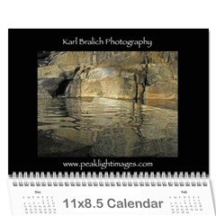 Calendar Yosemite 2012 12 Month By Karl Bralich Cover