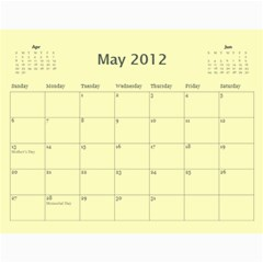 Calendar Yosemite 2012 12 Month By Karl Bralich May 2012