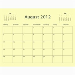 Calendar Yosemite 2012 12 Month By Karl Bralich Aug 2012