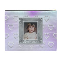 Love Frame By Claire Mcallen   Cosmetic Bag (xl)   Dt10hd0lat02   Www Artscow Com Back