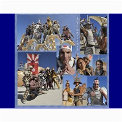 Burning Man People 2012 By Karl Bralich   Wall Calendar 11  X 8 5  (12 Months)   Riunv207tow4   Www Artscow Com Month