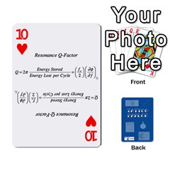 Tattoo Parlor Cards By Sarah Heile   Playing Cards 54 Designs   Nvecs0bku6d7   Www Artscow Com Front - Heart10