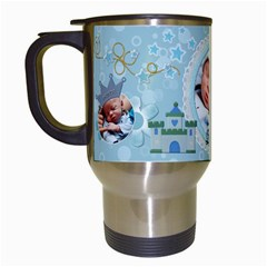 Little Prince Travel Mug By Lil    Travel Mug (white)   Nl7qz0bnbia0   Www Artscow Com Left