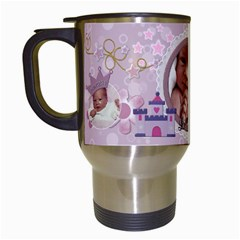 Little Princess Travel Mug By Lil    Travel Mug (white)   Pf2m15ohajq9   Www Artscow Com Left