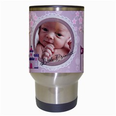 Little Princess Travel Mug By Lil    Travel Mug (white)   Pf2m15ohajq9   Www Artscow Com Center