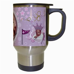 Little Princess Travel Mug By Lil    Travel Mug (white)   Pf2m15ohajq9   Www Artscow Com Right