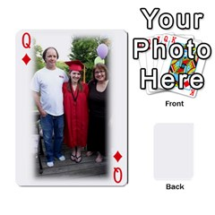 Queen Grandpa Family Cards By Ashley   Playing Cards 54 Designs   Qfq2ghmecupy   Www Artscow Com Front - DiamondQ
