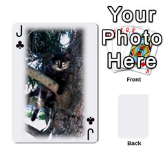 Jack Grandpa Family Cards By Ashley   Playing Cards 54 Designs   Qfq2ghmecupy   Www Artscow Com Front - ClubJ