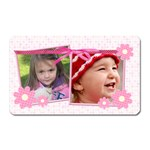 Little Princess - Magent (Rect) #1 - Magnet (Rectangular)