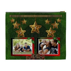 Christmas Memories Xl Cosmetic Bag By Lil    Cosmetic Bag (xl)   0immhaj4ije0   Www Artscow Com Back