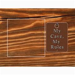 Man Cave 12 Month Calendar By Lil    Wall Calendar 11  X 8 5  (12 Months)   3ex76paepurb   Www Artscow Com Month