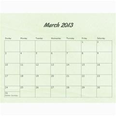 Kowallis By Alisa   Wall Calendar 11  X 8 5  (18 Months)   G835sex7d1y4   Www Artscow Com Mar 2013