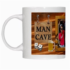 Man Cave Mug By Lil    White Mug   4np2aw2t67pz   Www Artscow Com Left