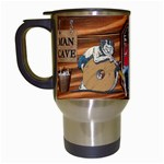 Man Cave Travel Mug - Travel Mug (White)