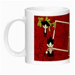 Christmas kitty - Night Luminous Mug
