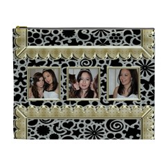 Golden Girls Extra Large Cosmetic Bag By Catvinnat   Cosmetic Bag (xl)   Rr05f8efiduj   Www Artscow Com Front