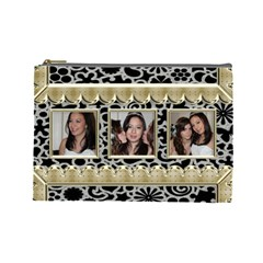 Golden Girls Large Cosmetic Bag By Catvinnat   Cosmetic Bag (large)   Wts6bns3ttoe   Www Artscow Com Front