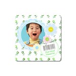 Cherished Memories Magnet Square - Magnet (Square)