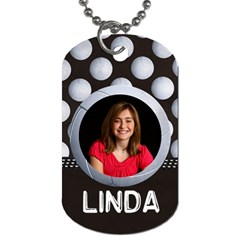 Volleyball  Dog Tag (2 Sides) By Mikki   Dog Tag (two Sides)   Yl8gcldh2v6r   Www Artscow Com Front