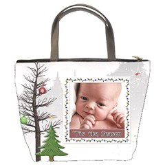 Tis The Season Bucket Bag By Lil    Bucket Bag   57qmzg3wp8fp   Www Artscow Com Back