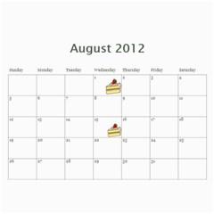 Opa And Oma Calendar By Heidi Groth   Wall Calendar 11  X 8 5  (12 Months)   7z0gsvdbj1r5   Www Artscow Com Aug 2012