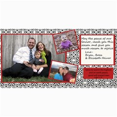 2011 Christmas Card By Breea   4  X 8  Photo Cards   Vlsfy8k6aj4v   Www Artscow Com 8 x4 Photo Card - 8