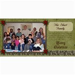 2011 Short xmas card - version 1 - 4  x 8  Photo Cards