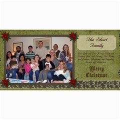 2011 Short Xmas Card   Version 1 By Tammy Baker   4  X 8  Photo Cards   Imfsxiarsfdl   Www Artscow Com 8 x4 Photo Card - 3