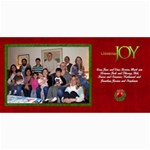 2011 Short xmas card - version 2 - 4  x 8  Photo Cards