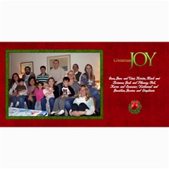 2011 Short Xmas Card   Version 2 By Tammy Baker   4  X 8  Photo Cards   138aay74rv12   Www Artscow Com 8 x4 Photo Card - 2