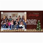 2011 Short xmas card - version 3 - 4  x 8  Photo Cards