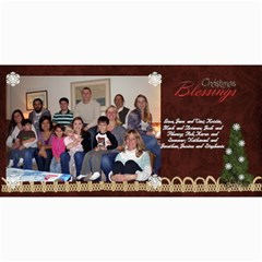 2011 Short Xmas Card   Version 3 By Tammy Baker   4  X 8  Photo Cards   Kh9prpvlsr9c   Www Artscow Com 8 x4 Photo Card - 2
