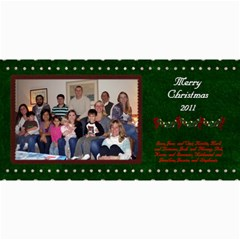 2011 Short Xmas Card   Version 4 By Tammy Baker   4  X 8  Photo Cards   Nrslfxxzwlmt   Www Artscow Com 8 x4  Photo Card - 2