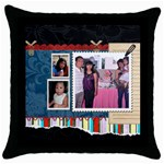 mhelan5 - Throw Pillow Case (Black)