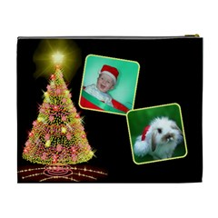 Christmas Things Cosmetic (xl) Bag By Deborah   Cosmetic Bag (xl)   51ub3yndaxm1   Www Artscow Com Back