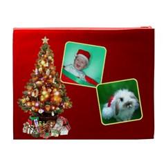 Christmas Things Cosmetic (xl) Bag 2 By Deborah   Cosmetic Bag (xl)   Yy49jwadpo0w   Www Artscow Com Back