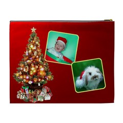 Christmas Things Cosmetic (xl) Bag 2 By Deborah   Cosmetic Bag (xl)   Yy49jwadpo0w   Www Artscow Com Back