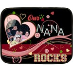 Nana2 - Fleece Blanket (Mini)