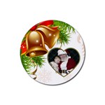 Christmas Bell Coaster - Rubber Coaster (Round)