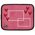 Netbook Case (XXL): Hearts 2