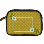 Digital Camera Leather Case: Polka