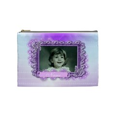 Beautiful Butterfly Cosmetic Purse Large By Claire Mcallen   Cosmetic Bag (medium)   P6sspv4igceo   Www Artscow Com Front