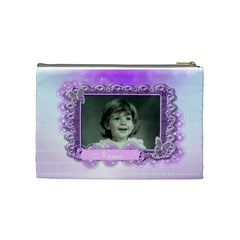 Beautiful Butterfly Cosmetic Purse Large By Claire Mcallen   Cosmetic Bag (medium)   P6sspv4igceo   Www Artscow Com Back