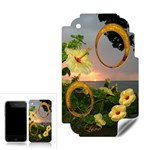 Hibiscus sunset 2 frame Apple 3G skin - Apple iPhone 3G 3GS Skin