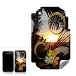 Palm sunset 2 frame Apple 3G skin - Apple iPhone 3G 3GS Skin