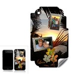 Palm sunset 2 shadow frame Apple 3G skin - Apple iPhone 3G 3GS Skin