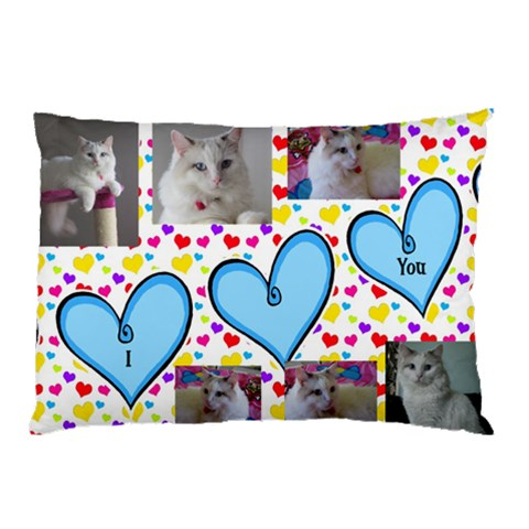 I Love You Pillow Case By Deborah   Pillow Case   Avavh3xgxllx   Www Artscow Com 26.62 x18.9 Pillow Case